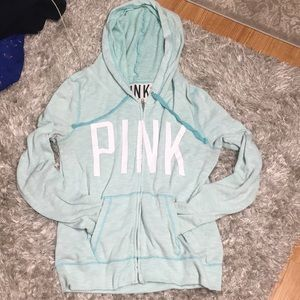 PINK zip up hoodie from Victoria's Secret
